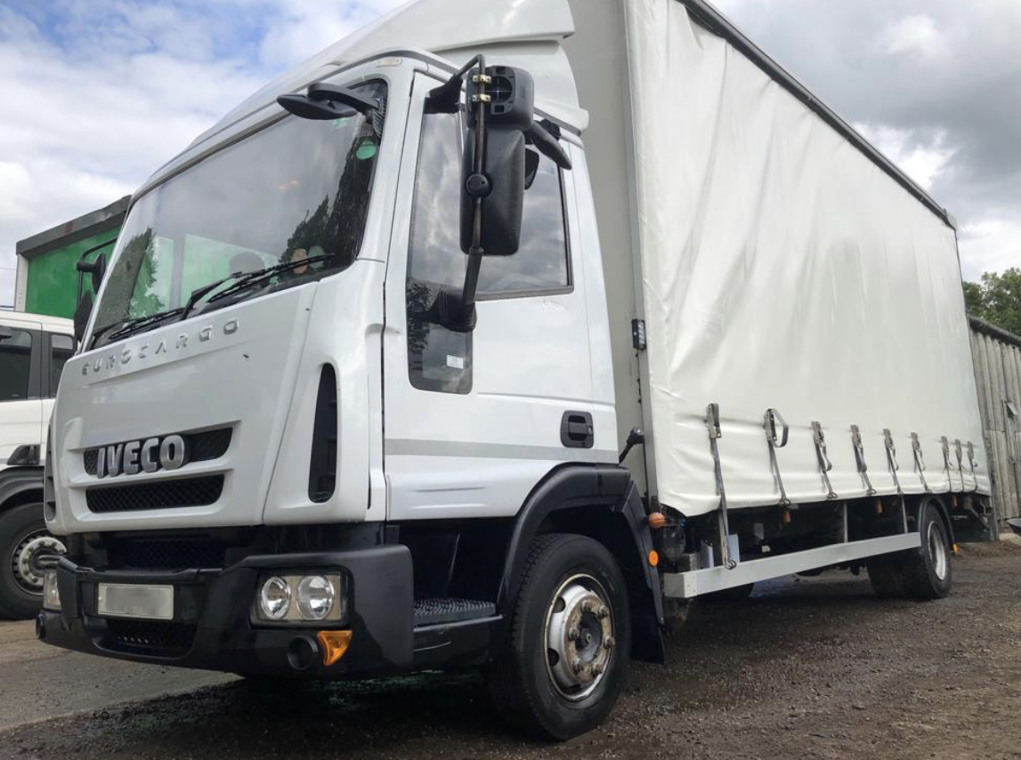 2011 IVECO EUROCARGO ML75 E16 7 5T CURTAIN SIDER *SPARES OR REPAIRS